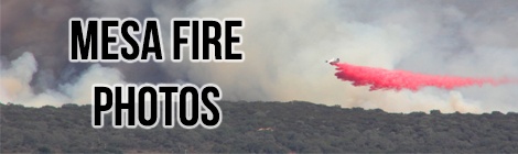 Mesa Fire, Lompoc, California