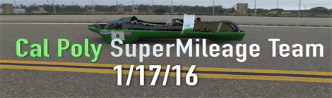 Cal Poly SuperMileage Team